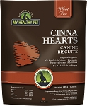 Holistic Blend Cinna Hearts Biscuits for Dogs, 8.29-oz bag