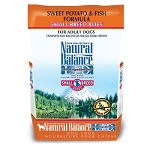 Natural Balance L.I.D. Limited Ingredient Diets Sweet Potato & Fish Formula Small Breed Bites Grain-Free Dry Dog Food