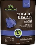 Holistic Blend Yogurt Hearts Biscuits for Dogs, 8.29-oz bag