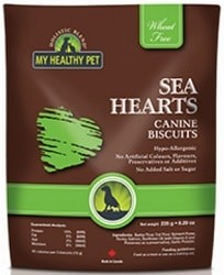 Holistic Blend Sea Hearts Biscuits for Dogs, 8.29-oz bag
