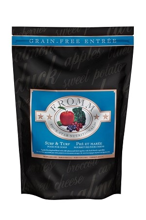 Fromm 4 Star Grain Free Surf and Turf Dog Kibble