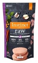 Instinct® Raw Frozen Patties Farm-Raised Rabbit Recipe
