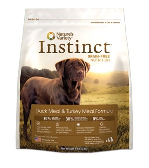 Nature's Variety Instinct Duck Dog Kibble