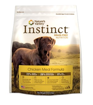 Nature's Variety Instinct Chicken Dog Food