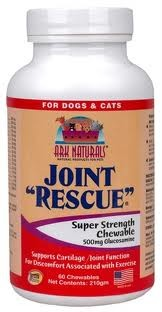 Ark Naturals Joint Rescue Tablets for Dogs and Cats