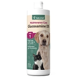 NaturVet Glucosamine DS Liquid with Chondroitin Hip & Joint Level 1 Maintenance Formula Dog & Cat Liquid Supplement