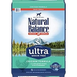 Natural Balance Ultra Grain Free Chicken Senior Reduced Calorie Dry Dog Food, 24 lbs.
