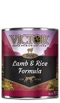 VICTOR Lamb & Rice Formula Paté Canned Dog Food, 13.2-oz, case of 12