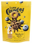 Fromm Crunchy O's Blueberry Blasts Grain Free Dog Treats