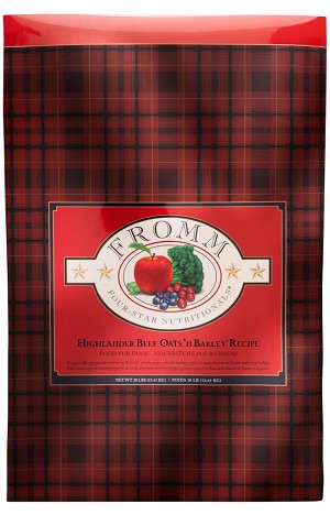 Fromm Four Star Highlander Beef, Oats, 'n Barley Recipe Dry Dog Food