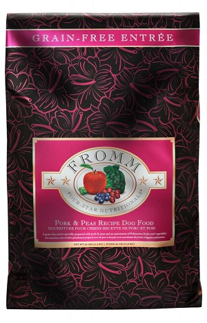 Fromm Four Star Grain Free Pork & Peas Recipe Dry Dog Food