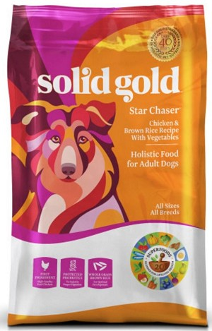 Star Chaser Chicken and Brown Rice with Vegetables Recipe Dry Dog Food