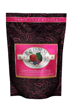 Fromm 4 Star Grain Free Pork and Peas Dog Kibble