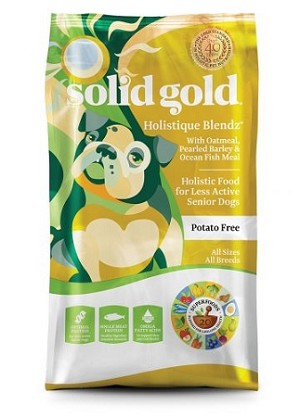 Solid Gold Holistique Blends Dog Food