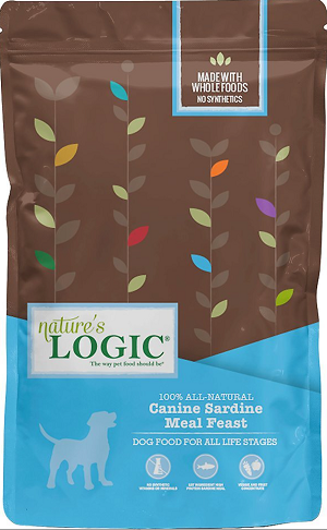 Nature's Logic Canine Sardine Meal Feast All Life Stages Dry Dog Food
