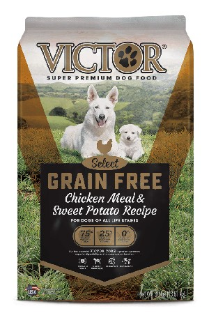 Victor Grain Free Chicken Meal & Sweet Potato Dry Dog Food