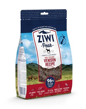 ZiwiPeak Air-Dried Grain Free Venison Formula Dry Dog Food