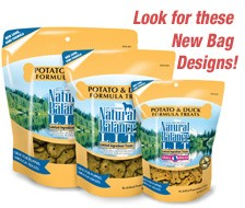 Natural Balance Potato and Duck Dog Treats