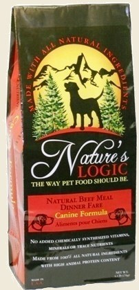 Nature's Logic Beef Dog Food
