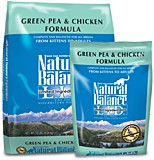 Natural Balance Chicken and Green Pea Cat Food
