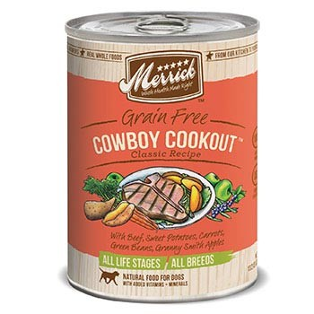 Merrick Cowboy Cookout Dog Food Cans