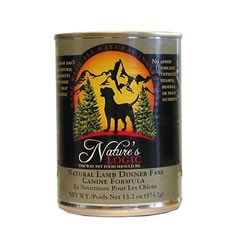 Nature's Logic Lamb Dog Food Cans