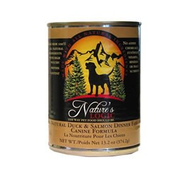 Nature's Logic Duck and Salmon Dog Food Cans