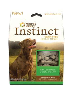 Nature's Variety Instinct Lamb Dog Biscuits