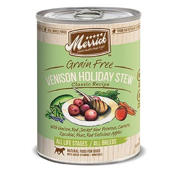 Merrick Venison Holiday Stew Dog Cans
