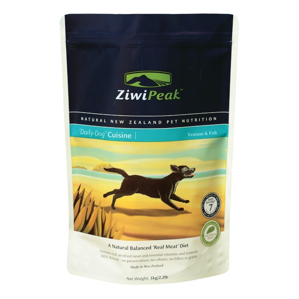 Ziwi Peak Venison/Fish Real Meat Dog Food